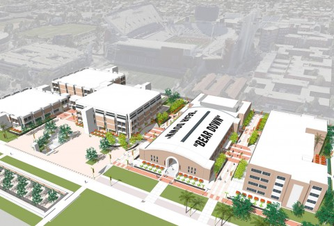 An artist's rendering of the forthcoming Student Success District