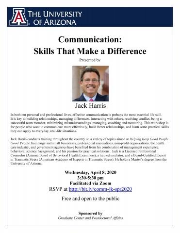 April 8 workshop flier