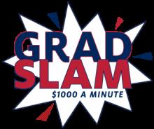 Grad Slam - $1000 a Minute Logo