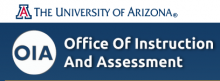UA Office of Instruction and Assessment Logo